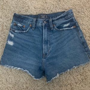 Abercrombie high waisted shorts